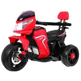Electric Motorcycle With Handle For Kids Red