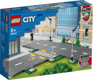 Konstruktorius LEGO City kelio juostos 60304