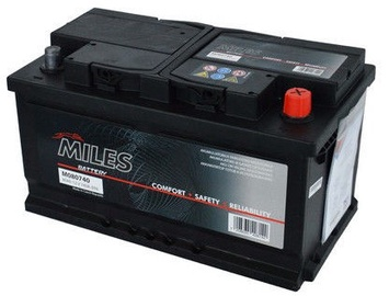 Аккумулятор Miles M080720, 12 В, 80 Ач, 720 а