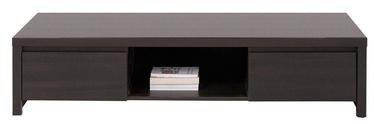 TV galds Black Red White Kaspian, brūna, 1435x555x335 mm