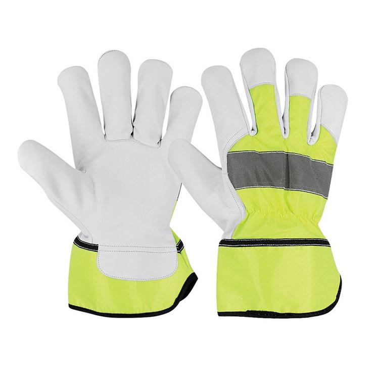 Перчатки Goatskin Grain Leather Palm Gloves AB-2405 XL