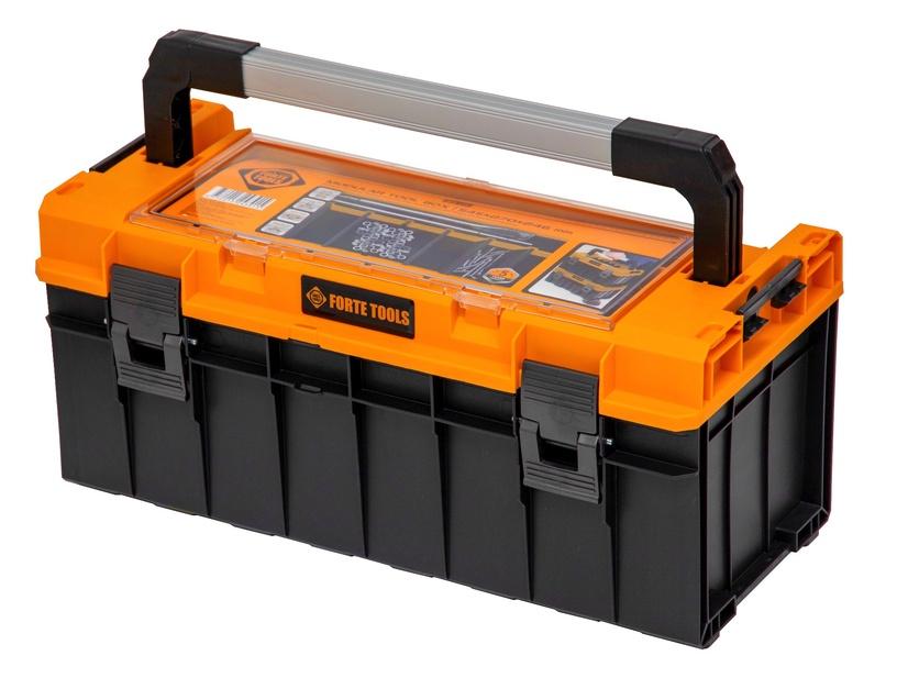 Коробка Forte Tools SKRQPRO600POMLT002, черный/желтый