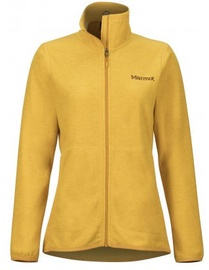 Marmot Womens Fleece Jacket Pisgah Yellow Gold S
