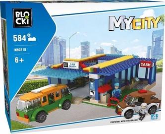 Blocki MyCity Car Wash 584pcs KB0218