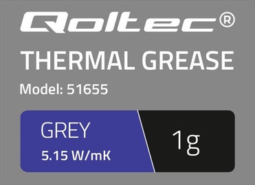 Qoltec Thermal Grease 5.15 W/m-K 1g