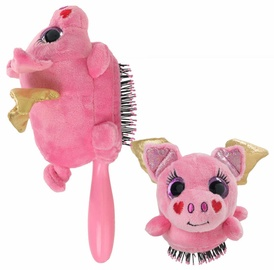 Wet Brush Plush Brush Flying Pig
