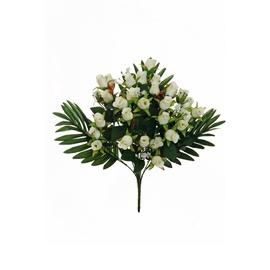 Букет искусственных цветов 80-312044, белый/зеленый