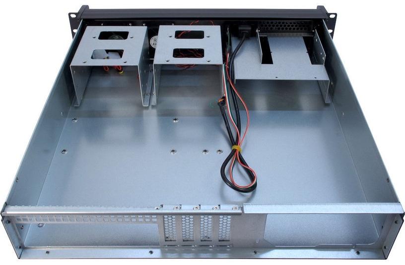 Корпус сервера Inter-Tech 2U 2098-SK μATX, черный