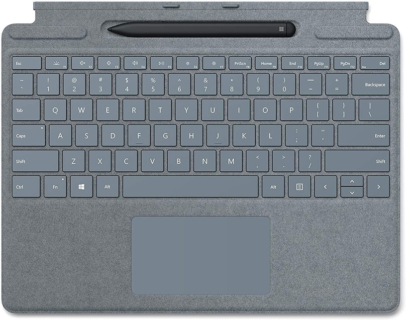 Microsoft Surface Pro X Signature Keyboard with Surface Slim Pen Blue