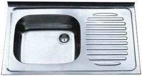 Мойка Tredi DM-8050 Stainless Steel Right 800x500mm