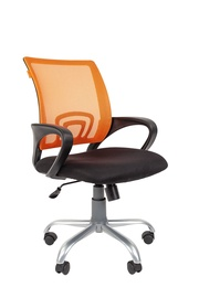 Chairman 696 Silver TW Office Chair Orange