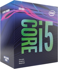 Procesors Intel® Core™ i5-9500F 3GHz 9MB BOX BX80684I59500F