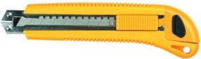 Top Tools Cutter Knife Yellow 18mm