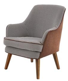 Кресло Halmar Telavivi, 75 x 80 x 87 см, коричневый