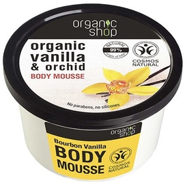 Organic Shop Body Mousse Bourbon Vanilla 250ml