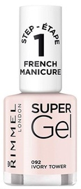 Rimmel London Super Gel French Manicure Nail 12ml 092