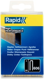 Rapid Narrow Crown 606/12mm Black Staples 3600pcs