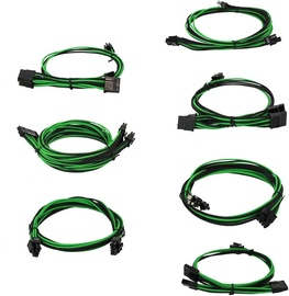 EVGA Power Supply Cable Set Green/Black 100-G2-13KG-B9