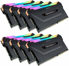 Corsair Vengeance RGB PRO 256GB 3466MHz CL16 DDR4 KIT OF 8 CMW256GX4M8E3200C16