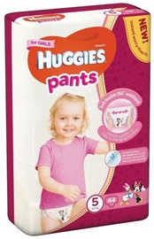 Sauskelnės Huggies Pants Girl, 5 dydis, 44 vnt.