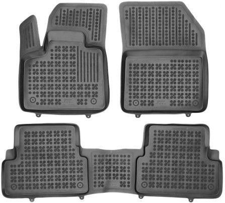 Резиновый автомобильный коврик REZAW-PLAST Peugeot 3008 2016, 3 шт.