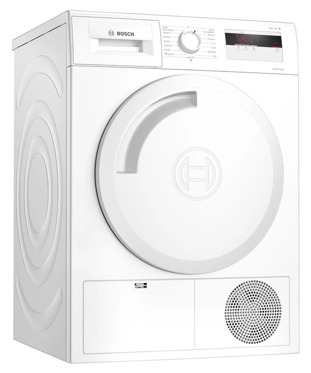 Bosch WTH8307LSN Tumble Dryer White