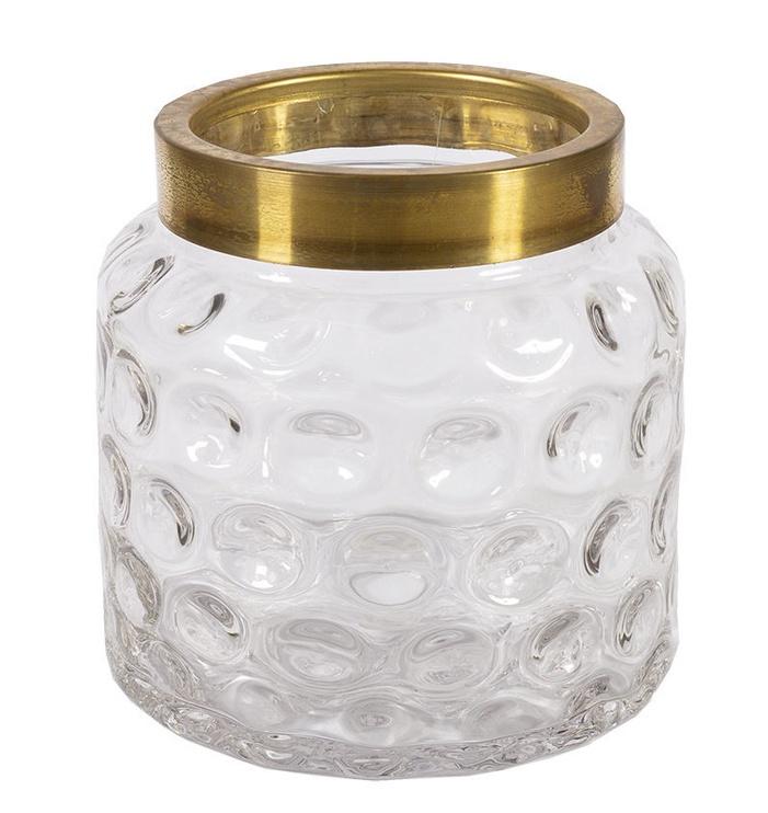 Home4you Luxo Vase D16x16cm Gold