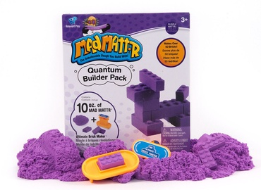 Kinetinis smėlis Relevant Play Mad Mattr Quantum Builders Pack Purple, 283 g