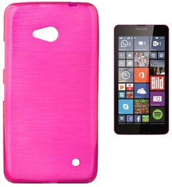 Чехол Forcell Jelly Brush Back Case For Microsoft 640 Lumia Pink