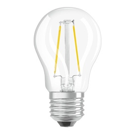 SPULDZE LED RETROFIT P 4W/827 E27 CL (OSRAM)