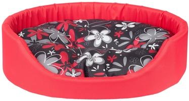 Лежанка Amiplay Fun Dog Oval Bedding M 52x44x14cm Red