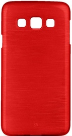 Forcell Jelly Brush Pearl Back Case For Samsung Galaxy A5 A510F Red