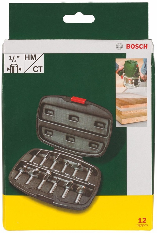 Bosch 2607019465 Rooting Drill Bit Set 12pcs