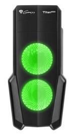 Natec Titan 800 Midi Tower Green/Black