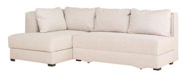 Stūra dīvāns Bodzio Judyta Noble Latte, kreisais, 225 x 155 x 77 cm