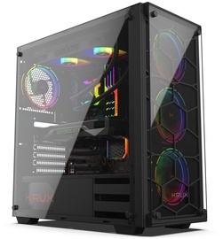 Krux Leda RGB ATX Mid-Tower Black