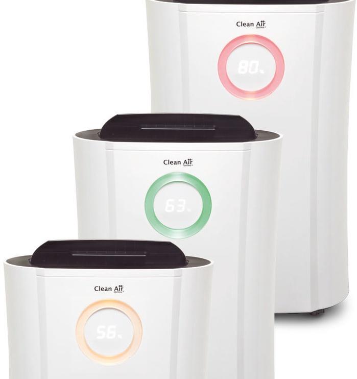 Clean Air Optima Dehumidifier & Air Purifier CA-704