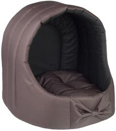 Amiplay Basic Oval Dog House L 44x44x46cm Brown