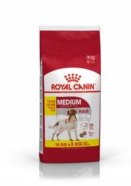 Ėdalas šunims Royal Canin SHN Medium Adult 15kg+3kg