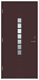 Lauko durys Viljandi Andrea 7, kairinės, 208.8x89 cm