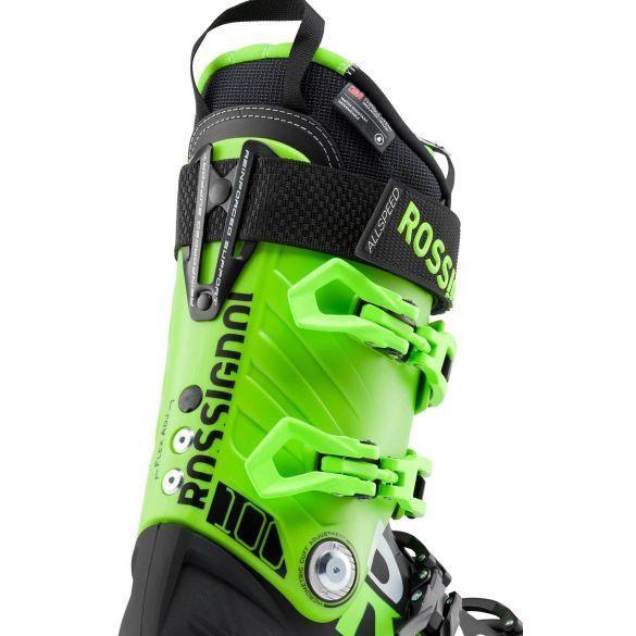 Rossignol Allspeed Ski Boots 100 Black/Green 29.5
