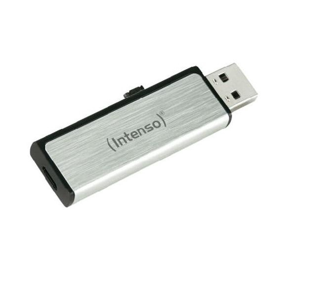 Intenso USB2.0 16GB Mobile Line +microUSB Silver