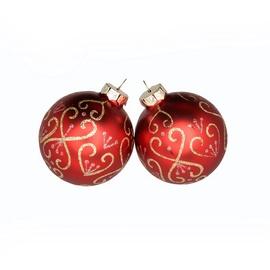 Jõuluehete komplekt Christmas Touch, 4 tk, Ø 8 cm
