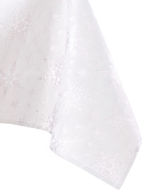Скатерть AmeliaHome White Christmas, серебристый, 1800 мм x 1400 мм