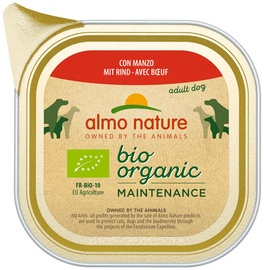 Almo Nature Bio Organic Maintenance Beef 100g