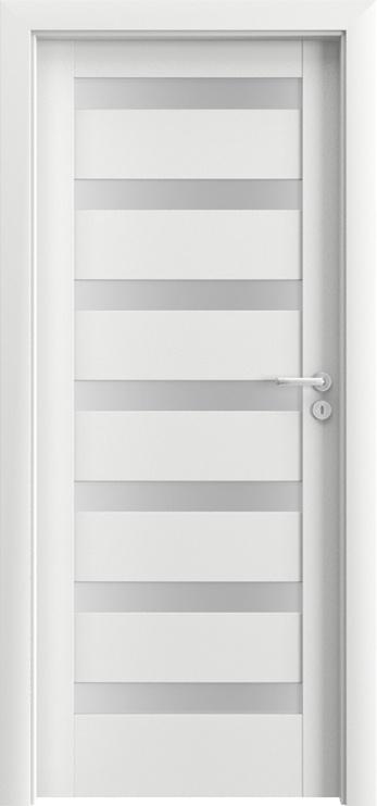 Porta Doors Porta Verte D7 Door Left 644X2030X40cm White