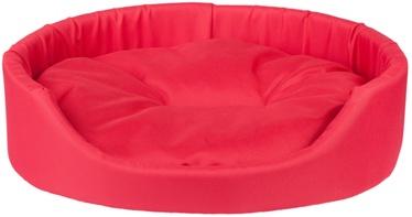 Amiplay Basic Oval Bedding XXL 86x76x17.5cm Red