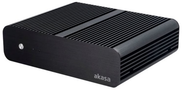 Akasa Euler Fanless Thin-Mini-ITX Case Black