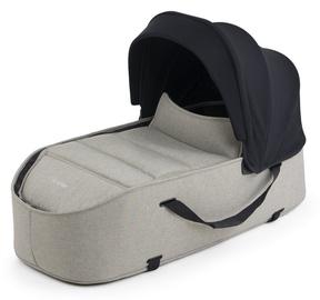 Сумка Bumprider Connect Carrycot Khaki Melange, черный/кремовый