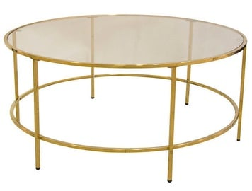 Verners Coffee Table Karlina Gold 557734